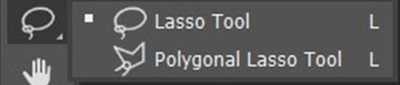 Lasso Tool and the Polygonal Lasso Tool