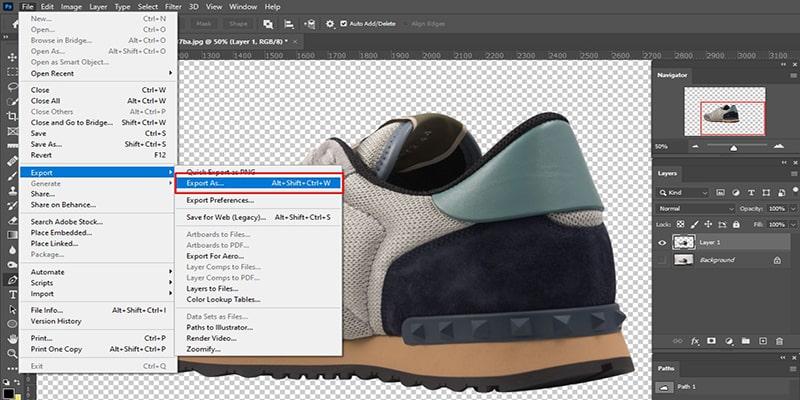 Make Background Transparent in Photoshop