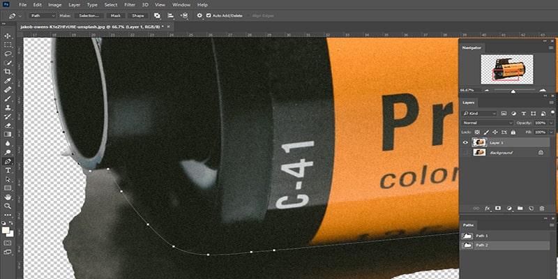 Make Transparent Background in Photoshop